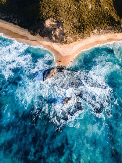 Ocean views Drone  Water Day High Angle View Nature Pool Sunlight Blue Swimming Pool Beauty In Nature Summer Turquoise Colored Waterfront Beach Sea Tranquility Sand No People Outdoors Land
