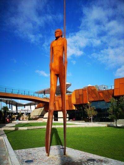 Yagan Square. Statue Aboriginal Art Australia Remembrance Western Australia Perth Australia EyeEm Selects City Sky