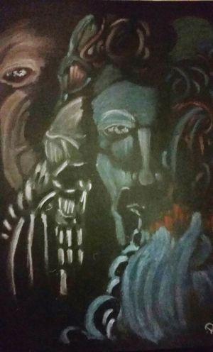 Halloween_Collection Art, Drawing, Creativity BLINDsided STUDio ArtWork Artist Art Gallery Graphite Art