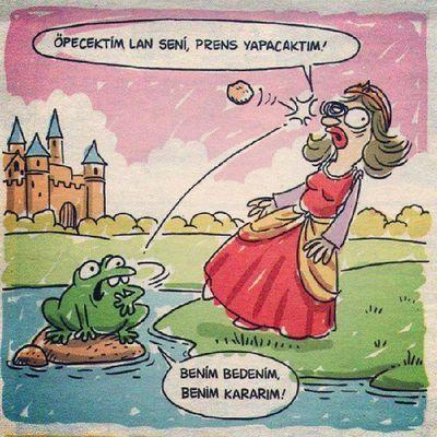 Kanbenimdamarbenim Cennetmahallesi Turkey Comics kurbağaprens