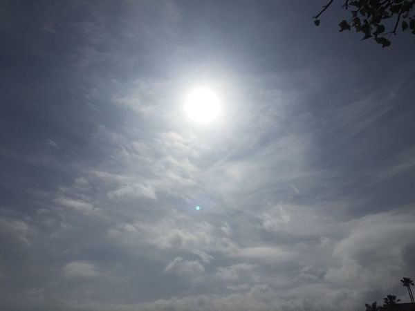 Sky Cloud - Sky Low Angle View Sun Sunbeam Beauty In Nature Nature Day Tranquil Scene Outdoors No People Sky Only Sunlight EyeEmNewHere