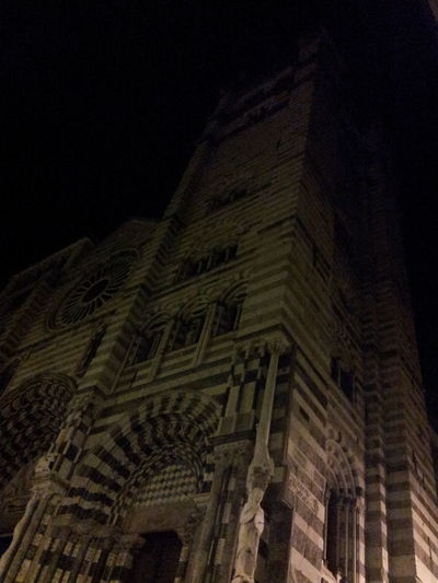 Church Genova Night My Zena