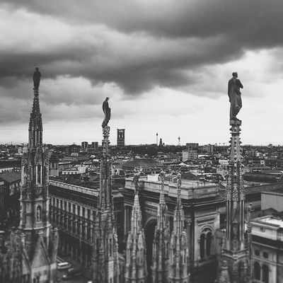Monodays Milano Bw Duomo