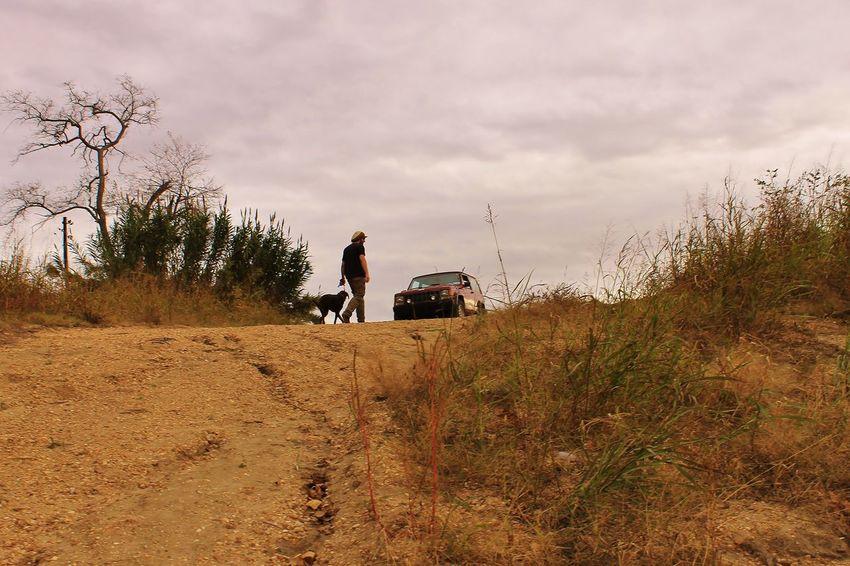 Jeep Life Long Walks Man's Best Friend Moody Sky Road Trip Road Trip! Solitude Up Shot