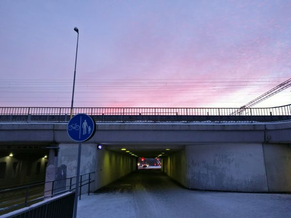 Urban Sunset Sunset In My Point Of View Tunnel View Tunnel Railway Bridge Citylife City Lights In The Dark Lights