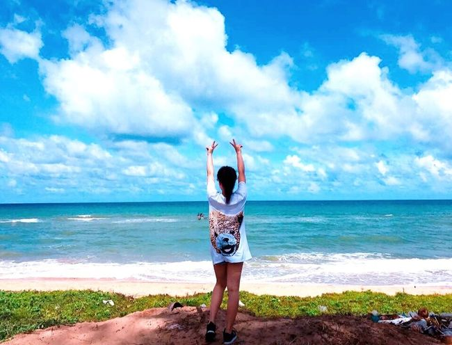 Sommergefühle Sea Sky Vietnamese Phu Quoc Island