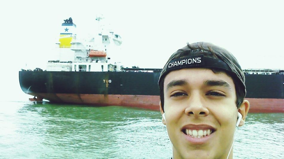 Ship Boats Sea Selfportrait Selfie Relaxing Amazing Enjoying Life Check This Out