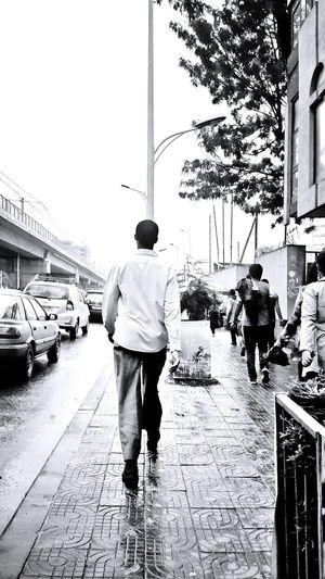 Black & White Addis Ababa Random