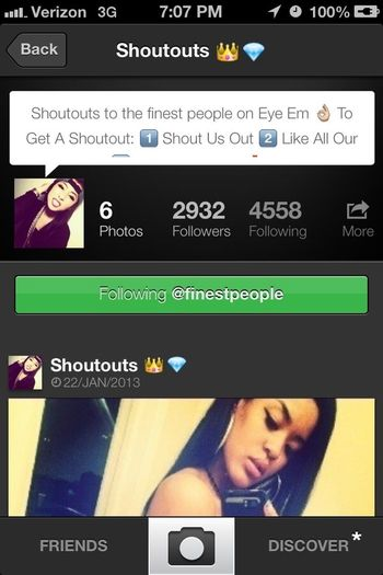 S/O @finestpeople !! Everybody Go Follow Them!