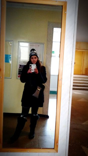 Its Me Helo World School Winterstyle Hi Photography Lithuania Girl