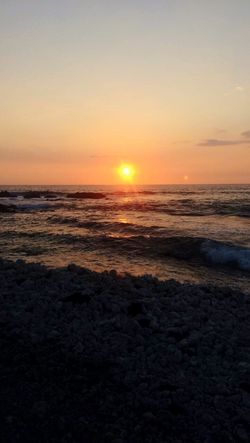 Sunset Sea Beauty In Nature Nature Scenics Sun Tranquility Beach Tranquil Scene Sky Orange Color Idyllic Water Horizon Over Water No People Outdoors Wave Sunset_collection Ocean Hawaii Big Island Orange Pink Blue Yellow Be. Ready. EyeEm Ready   Colour Your Horizn Summer Exploratorium