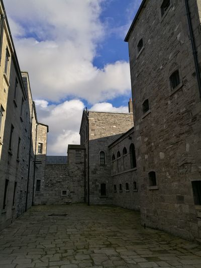 Stonebreakers yard kilmainham gaol Dublin Leinster Ireland 1916 Architecture History Travel Destinations Sky No People Building Exterior
