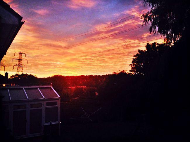 Sunset Cloud Porn Beaut Evening