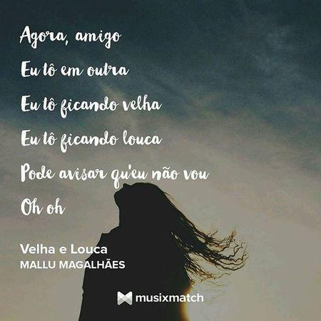 @silfranco_marques você vai ficar feliz ao saber que estou apreciando músicas que fazem parte do seu gosto <3 Nowplaying MalluMagalhaes VelhaeLouca MPB Brazilianmusic