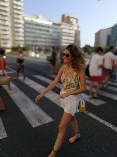 Walking down the street Shopping Cadiz Picoftheday SPAIN Holidays Queen Leicacamera Street