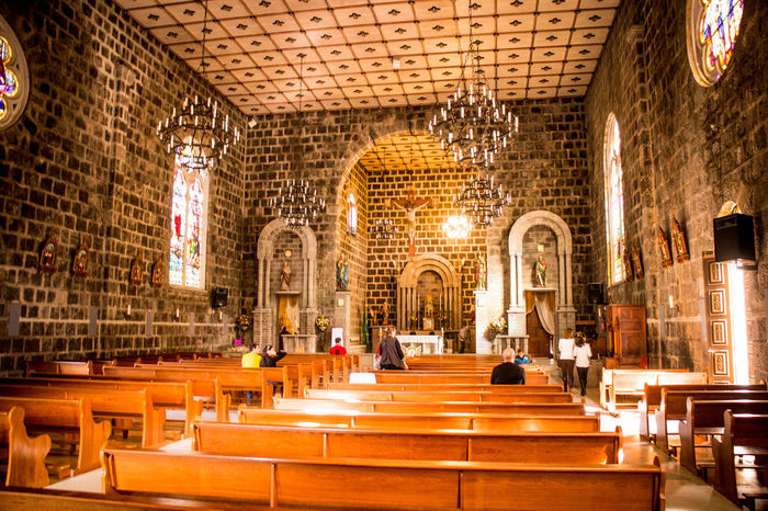 Gramado, Brazil Arch Beauty Church Interior Day Illuminated Indoors  No People Pew Religion