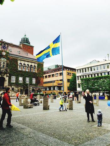 Flag Sweden Peace ✌ Enjoying Life Mycity My Country Hello World
