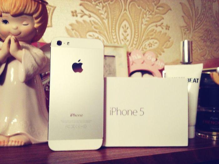 IPhone 5 (64 GB) - подарок от Алекса!!!