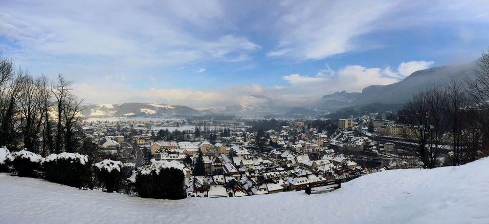Saint Laurent Du Pont Paysage Neige❄ Panoramique  Panorama Winter