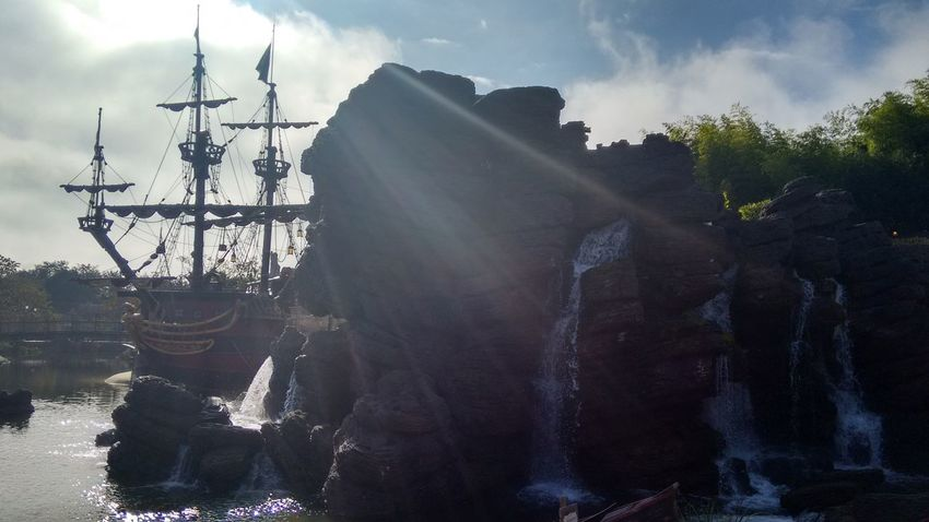 Cloud - Sky Pirate Ship Adventure Sun Sky Outdoors Day Majestic
