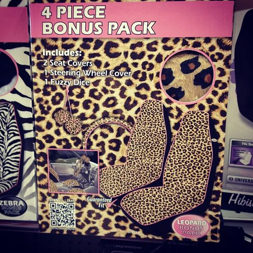 someone please buy this for me! Cheetahprint Cardecor Seatcovers