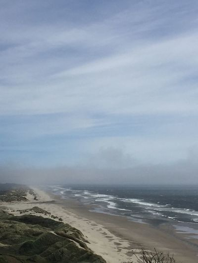 Fog Sea Beach