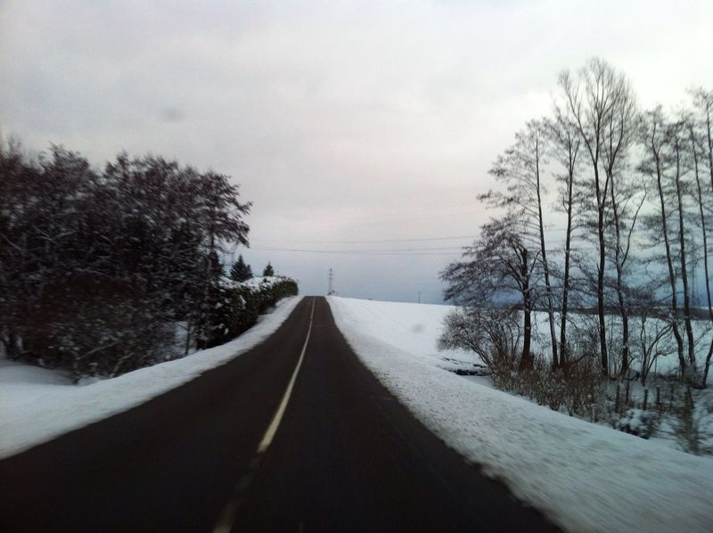 Road Landscape Art Landscape Melancholic Landscapes Spectator Shootermag Simplicity Snow Beautiful Vanishing Point