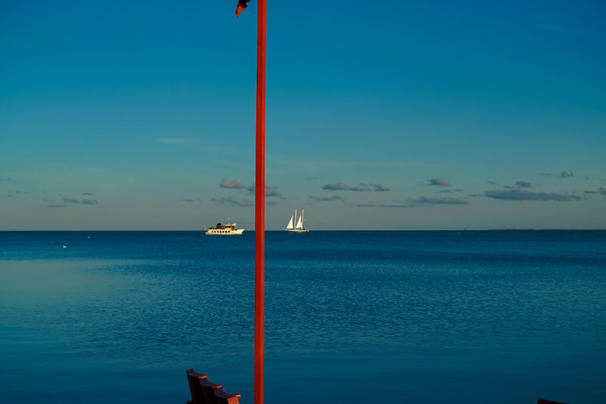 Sailing #lithuania #Nida #sailing Beauty In Nature Horizon Over Water Nature No People Scenics Sea Sky Tranquility Water