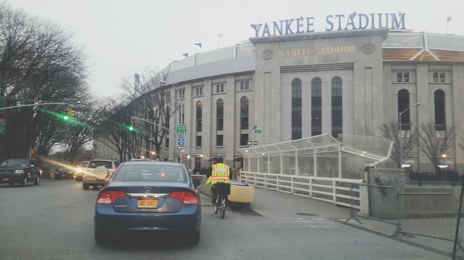 Yankees Taking Photos