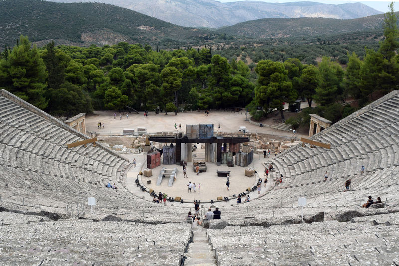 Ancient Ancient Ancient Architecture Ancient Civilization Ancient Culture Ancient History Ancient Ruins Archeology Architecture Epidaurus Greece GREECE ♥♥ Historical Historical Monuments History Landscape Old Old Ruin Panorama Peloponnese The Past Theater Theatre Travel Destinations View