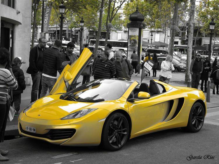 MeinAutomoment Cars Coche Manu Manugarcía Yellow Amarillo Paris Francia France Canon_official Canonphotography Canon Powershot G15