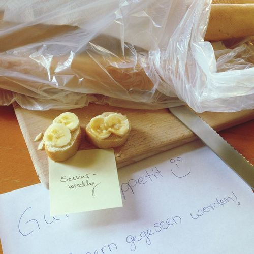 Bananenbrotstagram Breakfast Bread Food Serviervorschlag