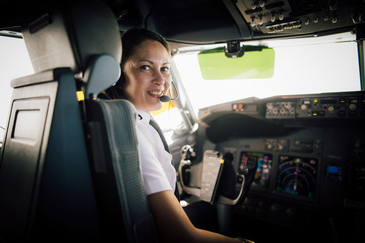 This was shot in 2015 but still remains one of my proudest works. Piloting has been a male-dominated practice, and it's great to see more and more female aviators over the years. Diversity and balance can only help the industry. International Women's Day 2019 Transportation Mode Of Transportation Vehicle Interior One Person Travel Real People Car Sitting Occupation Portrait Air Vehicle Adult Airplane Smiling Cockpit Motor Vehicle Female Pilot Aviation Aircraft My Best Photo