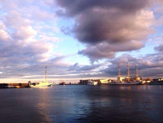 Sea Seaside Sunset Endoftheday Gdynia Poland