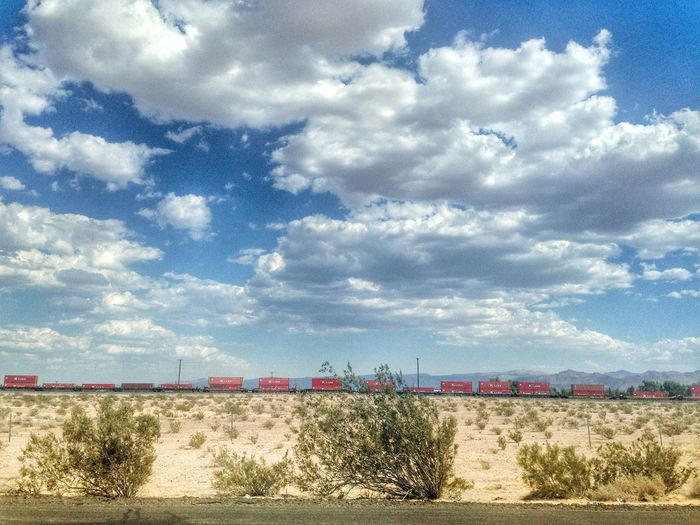 Nevada Desert Train On The Road Share Your Adventure The Traveler - 2015 EyeEm Awards EyeEm Best Shots