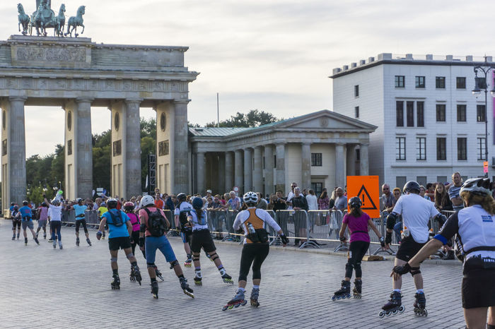 Berlin Marathon 2016 - Inline skating - in Berlin, Germany Adult Adults Only Architecture Berlin Berlin Marathon 2016 Building Exterior Built Structure City Competition Germany Horizontal Inline Skating Large Group Of People Long Distance Skating Men Music Outdoors People Photography Race Real People Sky Sports Street Photography Women