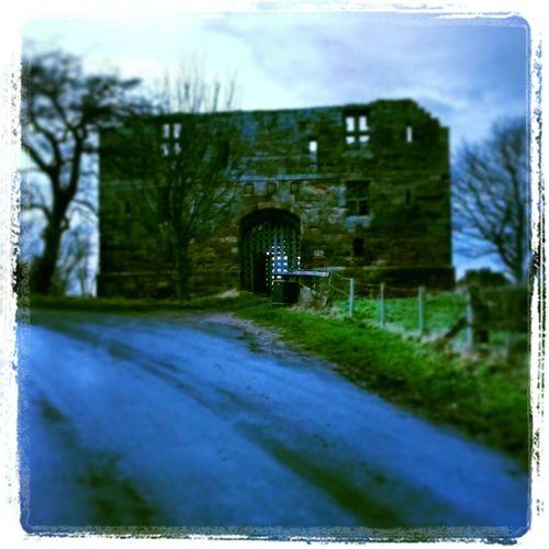 Castle Countryside dusk February Spooky Ruin Walking