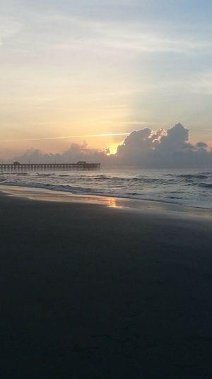 Beach sun pier