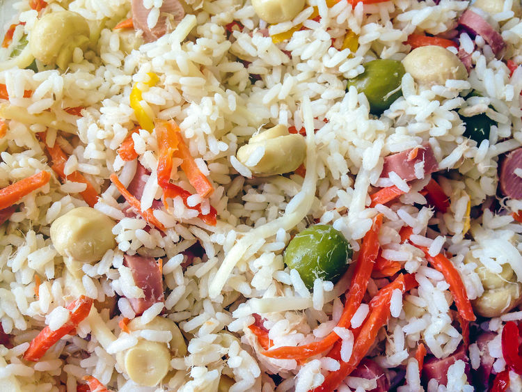 Close-up Day Food Food And Drink Freshness Fried Rice Full Frame Healthy Healthy Eating Indoors  Italian Mexican Food No People Ready-to-eat Rice Rice Rice - Food Staple Rice Salad Serving Size Tasty Vegetable