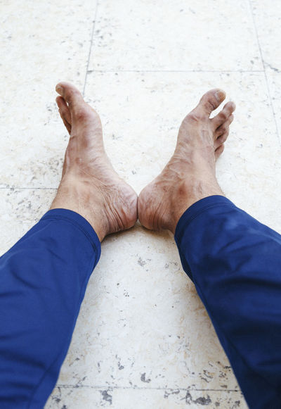 Adult Alone Blue Casual Clothing Close-up Couple Day Foot Foot Selfie Ground Human Foot Jeans Legs Leisure Activity Lifestyles Low Section My Leg My Legs Outdoors Part Of Person Personal Perspective Relaxation Twins Unrecognizable Person