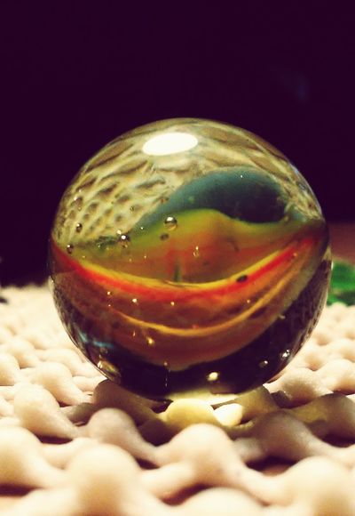 Marble No People Close-up Black Background Cats Eye Marble vintage Vintage Bright Colors MIB Marbles ♡ Art Glass Sphere Multi Colored Vibrant Color Marbles