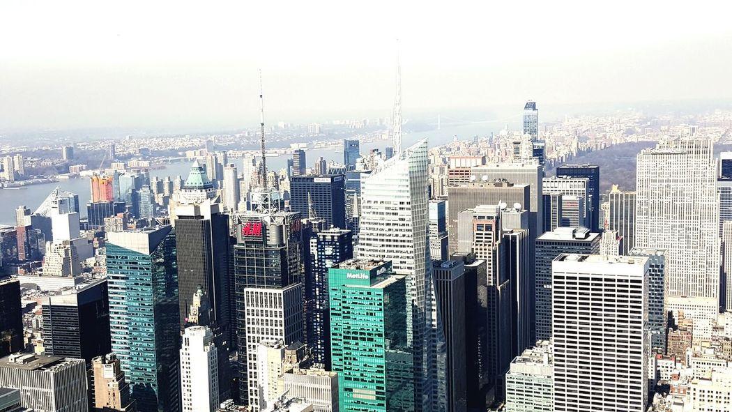 Empire State Building New York State New York City New York Skyline
