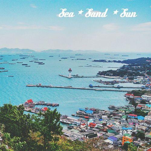 Sea Trip Thailand Chonburi SICHANGISLAND Instasea Vscocam Seasandsun Adayinthailand VSCO Instathai Ig_thailandia