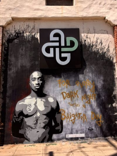 Streetart Street Art Tupac Los Angeles, California