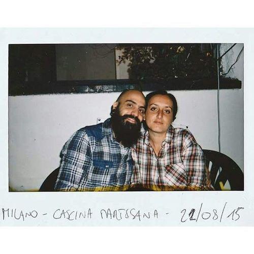 Seattle - Esordi del Grunge - 1987 :-D Auguri my love @jesuis_desole Grunge Couple Love Beard Bearded Pinup Milan Italy Cascinamartesana Lovers Lifestyle Instax Fujifilm Film Birthday Themostbeautifulwomanintheworld