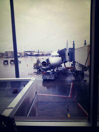 Flight preparations