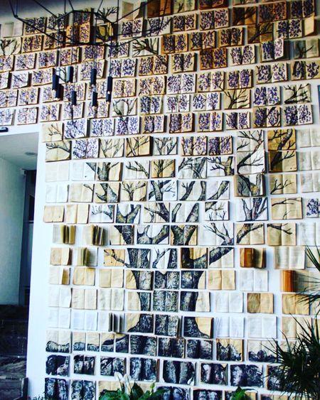 Mexico Art Instagood Installation Tree Treeofknowledge Treeoftheday Books Puebla Rethink Things Autumn Mood