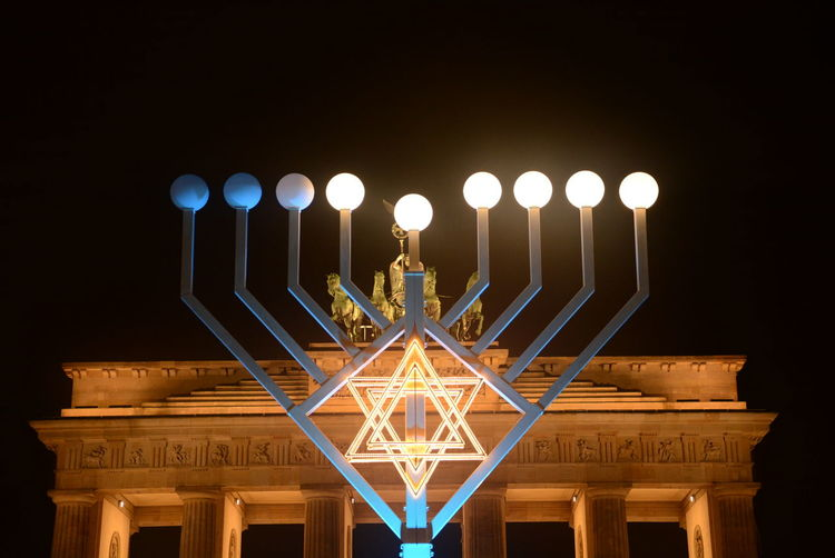 #18-105mm #7100 #🇮🇱 #⛥ #photography #photo #nikon #nikond7100 #18-105mm Travel Destinations Celebration Illuminated No People Architecture Night Outdoors Built Structure Sky