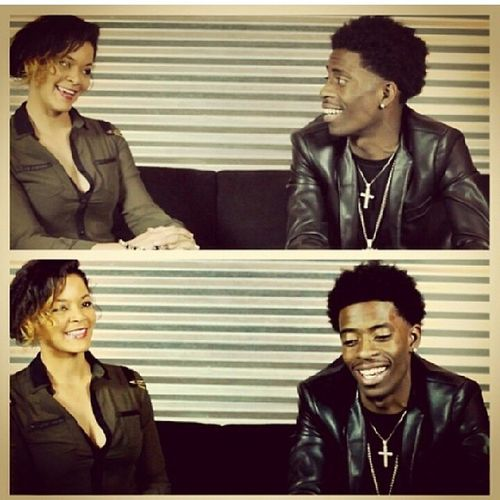 @rollingout .... Working interview wit @richhomiequan (QUAN) DONE BY THE LOVELY @forbesbeauty ROLLINGOUT Thinkitsagame