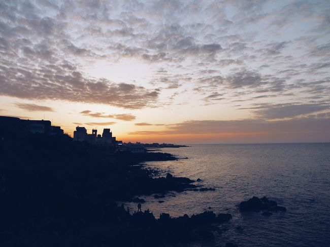 Sky Water Sunset Sea Cloud - Sky Beauty In Nature Scenics - Nature Nature